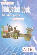 Acra Model BV 920 Engine Lathe, Operators Instruction, Service and Parts Manual