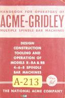 Acme Gridley : Acme Gridley on