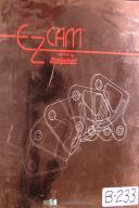 Bridgeport EZ-Cam VII, EZ-Turn Reference and N/C Programming Manual Year (1995)