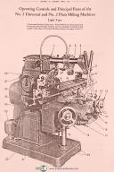 Brown & Sharpe No. 2, Univ., Vertical Milling, Operation and Repair Parts Manual
