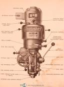 Bridgeport Milling Machine, Operations & Parts Lists Manual Year (1948)