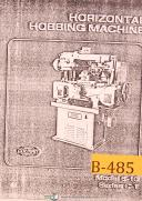 Barber Colman, Horizontal Hobbing & Shapers Machines, Facts & Features Manual
