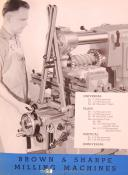 Brown & Sharpe, Milling Machines, Facts & Features Manual (1951)
