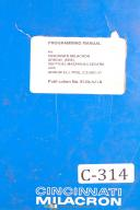 cincinnati milacron machinery manuals parts lists cincinnati milacron machinery manuals parts lists maintenance manual service instructions schematics