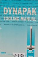 Dynapak Tooling Forming Operation and Energy Requirements Manual