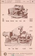 Ebosa M32, Dreh-und Gewideschneid-Halbautomat, Betriebsanleitung Manual