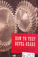 Gleason How to Test Beveled and Hypoid Gears Manual