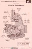 Kearney & Trecker Milwaukee TFR-25, TF Series Milling Machine Parts Lists Manual