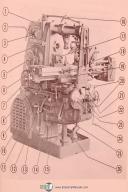 Kearney & Trecker Miwaukee KC-11, 2K, 3K Milling Machine Operators Manual
