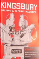 Kingsbury No. 8 Drilling and Tapping Heads, Operators Instruction Manual 1947