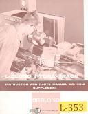 Leblond Hydra Trace Attachment Operations and Parts Manual Supplement