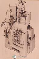 "Norton LCV-4, 14"" x 18"" Plain Cylindrical Chucking Grinder Operation Manual"