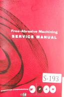 "SpeedFam 32"", Abrasive Machining, Service Instructions & Spare Parts Manual"
