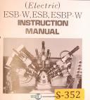 Sugino Selfeeder ESB-W ESB ESBP-W, Instructions and Parts Manual