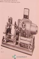 Trebel, American, DE DEV, Balancing Machine, Operations & Maint Manual 1957