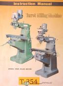 Turret Machinery AmL-618, Milling machine Instructions and Parts Manual