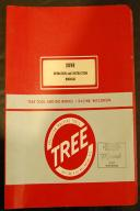 Tree 2UVR Milling Machine Operation & Instructions Manual