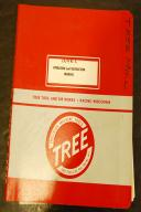 Tree 2UVR-C Mill Operation/Maintenance/Schematic Manual