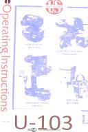 U.S. Motors, Safety in - Installation-Operation-Maintenance Brochure