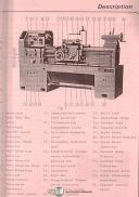 Victor 1640, 1660 1680 2040 2060 2080, Lathe Operations and Parts Manual