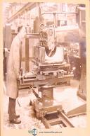Wadkin Tyep WX, Pattern Milling Machine, Operating Instructions Manual Year 1948
