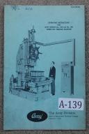 Avey No. 250 & 300 Turret-Dex Drilling Instructions