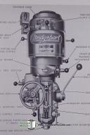 Bridgeport J-Head Operators Manual & Parts List (1957)