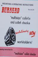 Burnerd Collets Dimensional Prints for Collets & Holder