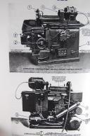 Heald No. 25A Rotary Surface Grinder Operation & Parts Manual