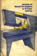 Carolina ST-12 Bandsaw Instruction & Parts Manual