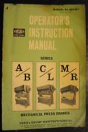 Chicago Series A/B, C/L, M/R Operators Instructions