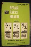 Chicago Series A/B, C/L, M/R Repair Parts Manual