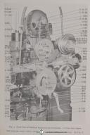 Fellows Type 6 Gear Shaper Machine Parts Lists Manual Year (1957)