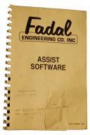 Fadal Assist Software Manual