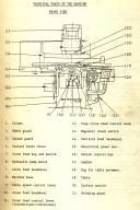 Okamoto PSG-63UAN Accugar 124N Grinder Complete Manual ... on
